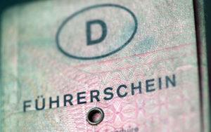 Gültigkeit und Umtausch Führerschein