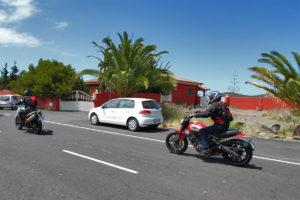 Motorradfahren La Palma