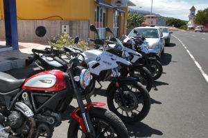 Motorrad mieten La Palma