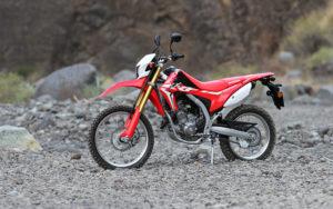 La Palma Caldera Motorrad Honda