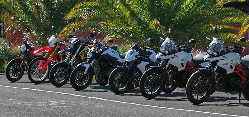 Motorrad Flotte